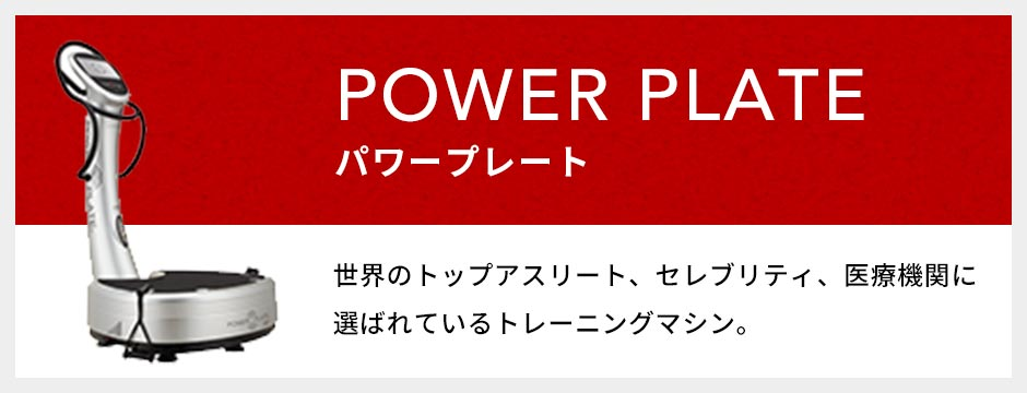 POWER PLATE - パワープレート